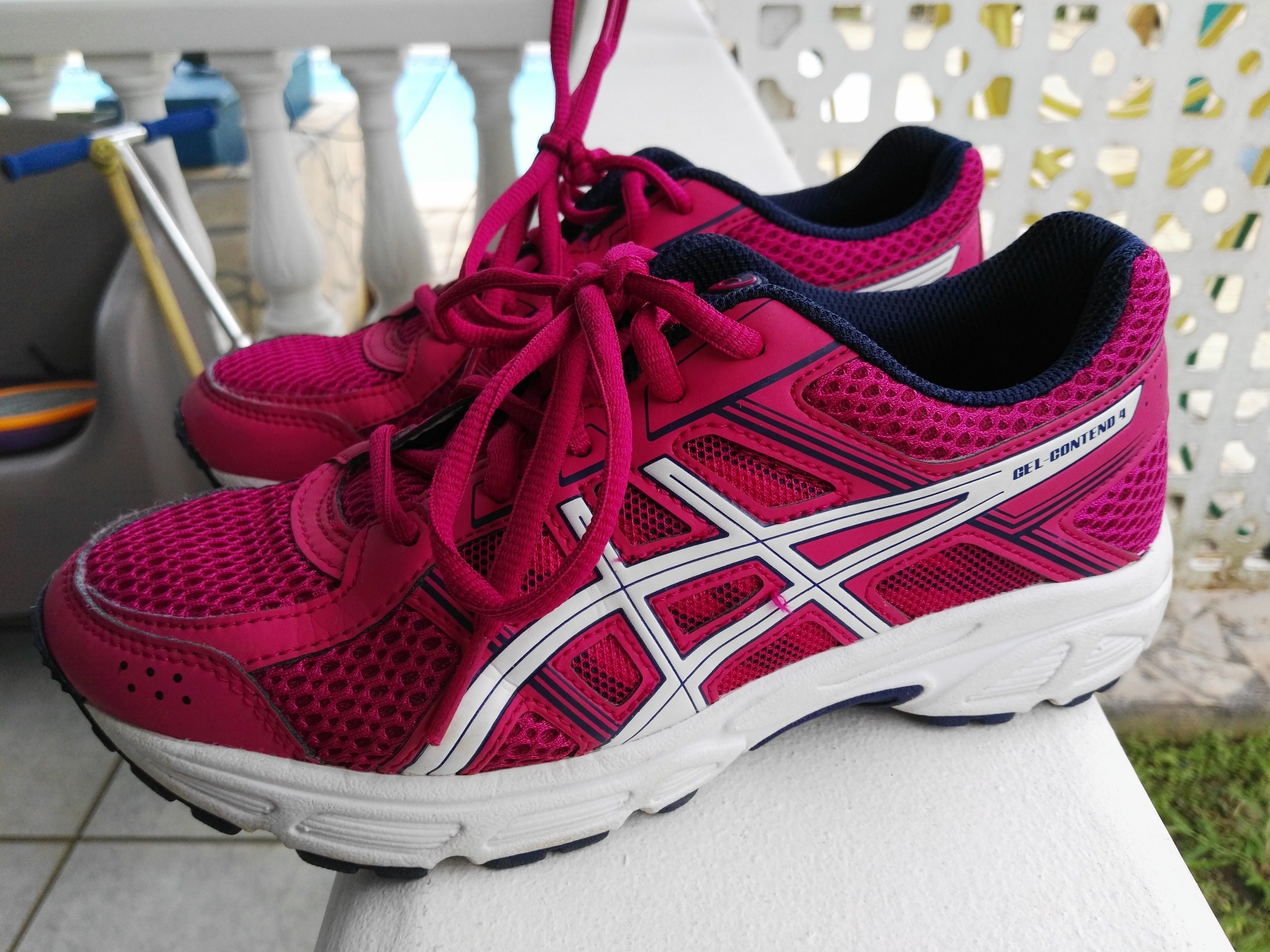 Ce Gel Chaussures 36 Big Taille Asics Contend Femme Wbxanueqy Running BqwB7YTO